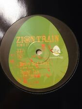 "Zion Train  Boxes & Amps/terror Talk-digital Remix Rare/Drum&bass/10"" Spirit Etc"