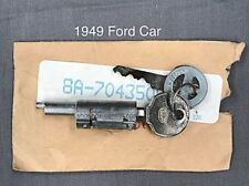 1949 Ford Passenger Car Trunk Deck Lid Lock Cylinder Tumbler with Key New