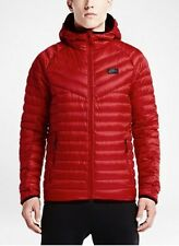 BNWT Large Nike NSW Down Fill Hooded Dark Red Jacket 943372-674