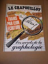 """MAGAZINE """"LE CRAPOUILLOT no 54 - LES SECRETS DE LA GRAPHOLOGIE"""" (1980)"""