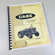 J I Case 530 Construction King Ck Wheel Tractor Parts Catalog Manual No C91o