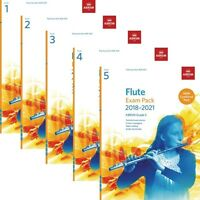 ABRSM Flute Exam Pieces 2018-2021 Combined Pack Options Grades 1,2,3,4,5