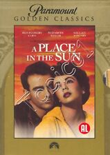 A PLACE IN THE SUN - GOLDEN CLASSIC - DVD - ELIZABETH TAYLOR - MONTGOMERY CLIFT