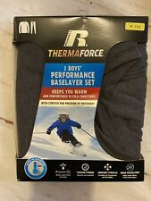 New listing New! Boy's Size M (8) Russell Winter 2-Piece Outdoor Long Underwear Set Gray