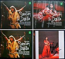 JOSE CURA & Olga Borodina signée Saint-Saens Samson et Dalila Colin Davis 2cd