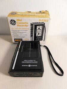 GE Mini Cassette Recorder 3-5303 Unused with Original Box