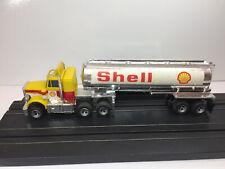AFX AURORA NOS RARE LIghted PETERBILT SHELL truck & Tanker Model Motoring  NEW!
