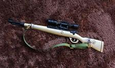1/6 1:6 WW2 PUBG German Kar 98k Sniper gun BattleField4 Battleground Metal 军绿