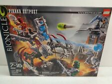 Lego Bionicle Piraka Outpost Building Toy 8892, Age 7-16, 211 pcs, *NEW IN BOX