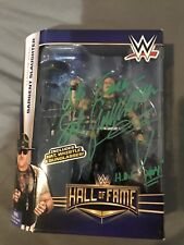 Sgt Slaughter Autographed Hall Of Fame Figure