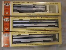 Con-Cor - Baltimore and Ohio - Passenger Cars - lot of 3 - HO scale.