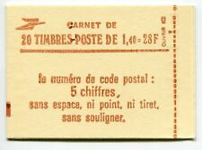 RC 5962 FRANCE CARNET 2102-C 7a SABINE 20 TIMBRES A 1,40f MNH NEUF **