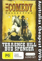 Terrence Hill & Bud Spencer - The Comedy Collection DVD NEW, FREE POST IN AUST