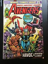 Avengers Comic Book Lot of 3 Vintage # 127 128 140 Nice Condition