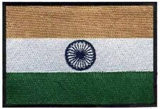 2 pcs INDIAN Flag Embroidered Iron on Patches - INDIA