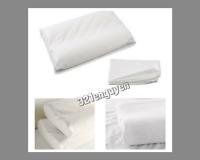 IKEA DVALA Pillowcase for Memory Foam Pillow, White (2 Pack) 401.508.51 NEW