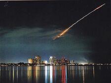 "+PC-Postcard-""NASA...""Discovery Over West Palm Beach/Florida""  (B23)"
