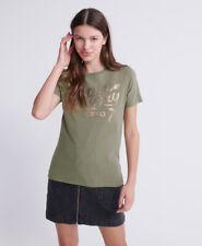 Superdry Womens Dry Camo Script T-Shirt