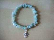 The ANGEL of  HOPE / CREATIVITY, AMAZONITE Gemstone Bracelet