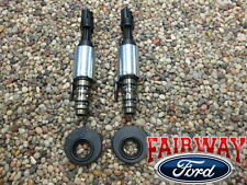 F-150 Super Duty OEM Genuine Ford VCT Solenoids & Seals PAIR Early 5.4L & 4.6L