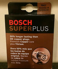 Bosch 7957 FR8DCX Super Plus Spark Plug Pack of 4