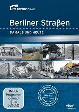 2 DVDs *  BERLINER STRAßEN - DAMALS UND HEUTE  # NEU OVP -