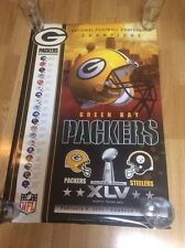 2010 GREEN BAY PACKERS SUPER BOWL CHAMPIONS XLV POSTER SEALED BRAND NEW