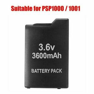 3.6V 3600mAh Replacement Rechargeable Battery Pack for Sony PSP PSP1000/1001 L