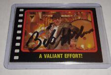 """BOB HOSKINS - SIGNED VINTAGE 1987 """"ROGER RABBIT"""" CARD"""