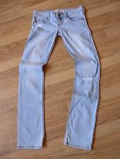 womens HOLLISTER distressed jeans - size 24/33 great condition