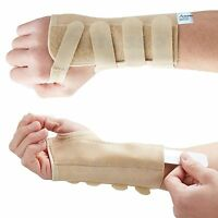 Medically Approved Elastic Wrist Brace Support Metal Splint Carpal Tunnel RSI-