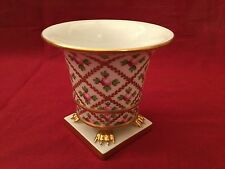 Squisiti dipinti a mano Herend porcelain guilded & FLOREALE VASO data 1995