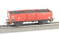 MÄRKLIN Spur H0 4902 offener Güterwagen Hochbordwagen Omm 52, DB, Epoche III