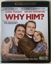 Why Him 4K Ultra Hd Blu Ray 2 Disc Set Free World Wide Shipping Buy It Nowcomedy