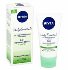 3 x Nivea Daily Essentials Oil Free Moisturising Day Cream Moisture Boost 50ml