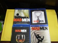 (4) Mad Men Season Blu-Ray Lot: Seasons 1, 2, 3 & 4    Jon Hamm