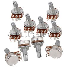 10x B500K OHM Audio Volume MINI POTS Electric Guitar Potentiometers