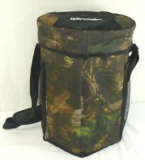 NEW Bucket Seat Cooler Camo Rayovac Hunting Fishing Picnic Shoulder Strap Pocket