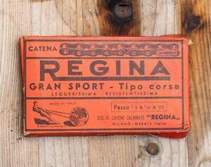 "NIB Vintage 1930/'40/'50 REGINA GRAN SPORT - Tipo Corsa 1/2 X 1/8"" X 112 chain"