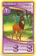 Morrisons Disney Trading Cards 2012: Great Prince from Bambi (D8)