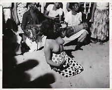 Scène de vaudou Cuba Original Vintage 1953