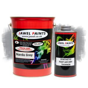 Synthetic Paint - Audi Nardo Grey - 6 Litre Kit - High Gloss - Car - Commercial