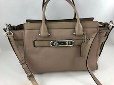 New Authentic Coach 87298 Swagger Satchel Shoulder Bag Handbag Purse Stone