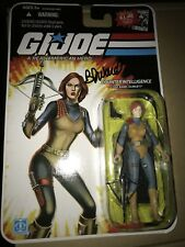 GI Joe 25th Anniversary Scarlett Arar Joecon 2014 Signed Bj Ward Voice Actor