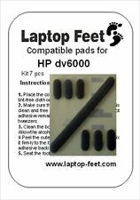 Laptop New compatible set of rubber feet  for DV6000 (7 pcs self adh. by 3M)