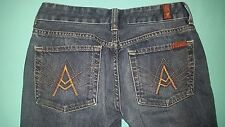 "7 For All Mankind ""A Pocket"" Bootcut Women's Jeans size 27, inseam 31"