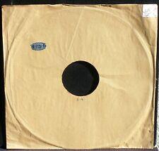 Pochette 78 trs / 78 RPM Etiquette Terrien, rue de Tournai Tourcoing EX