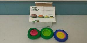 9 Farberware Food Huggers Reusable Silicone Food Savers BPA Free