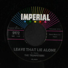"""TRUMPETEERS: leave that lie alone / milky white way IMPERIAL 7"""" Single"""
