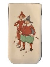 """""""Royal Doulton Ceramic"""" with 4 Different Golf Images"""